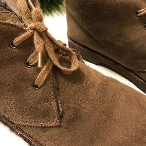 Vince Desert Boots Size 8